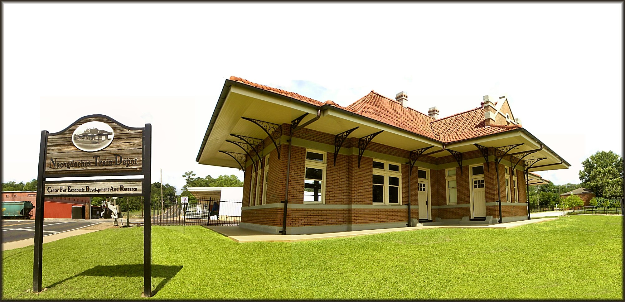 Nacogdoches Train Depot and Center for Economic Development and Research in Historic Nacogdoches