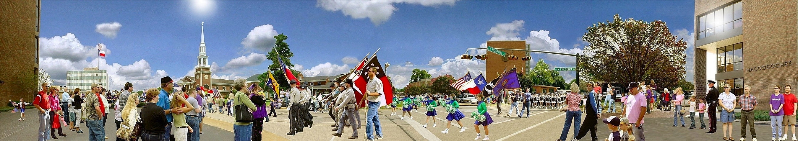 Picture of Veterans Day Parade in Historic Nacogdoches