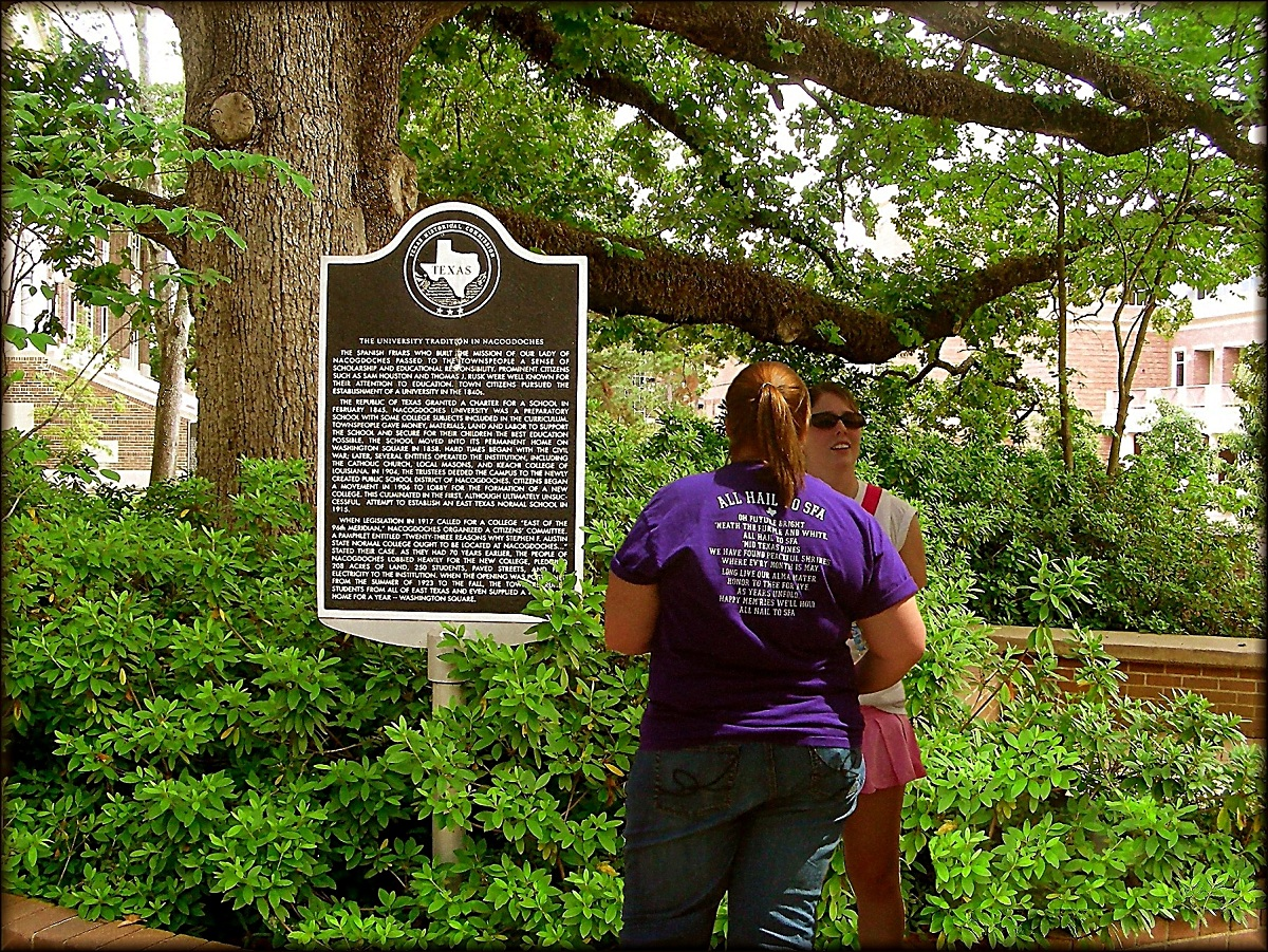 Stephen F. Austin State University and the Tradition of Education in Historic Nacogdoches