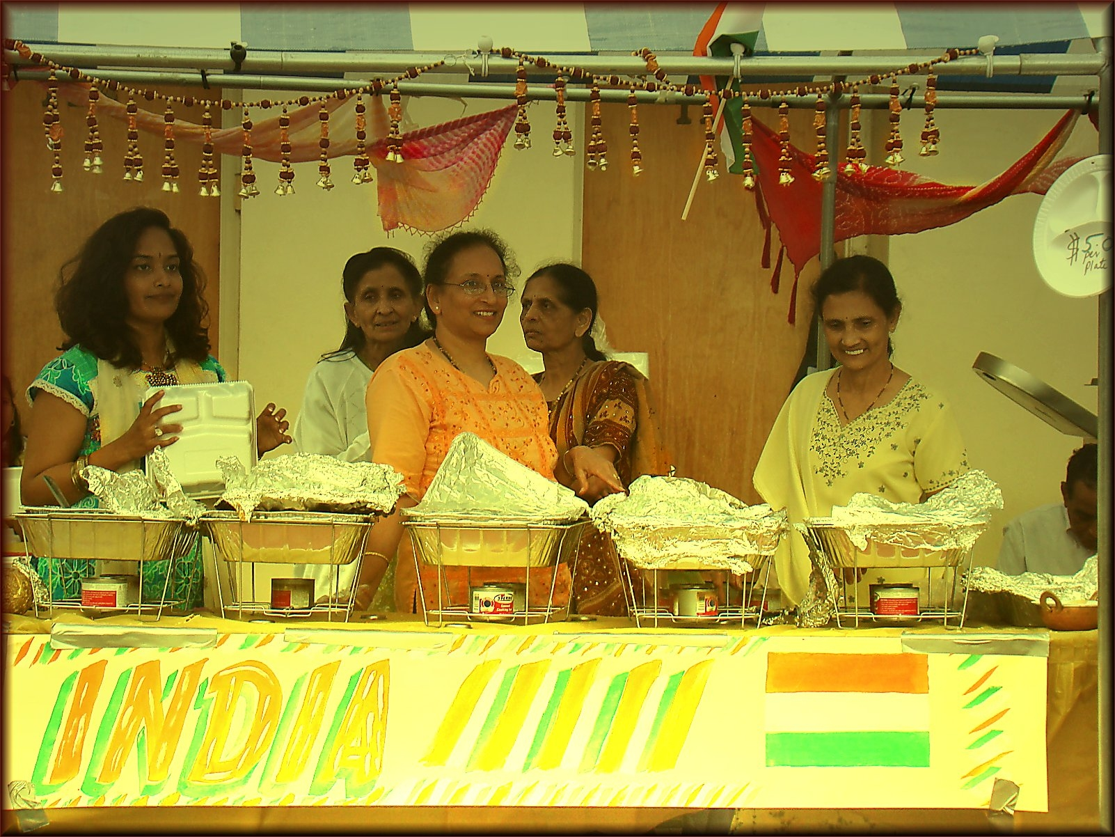 India Five at the Multicultural Festival in Historic Nacogdoches