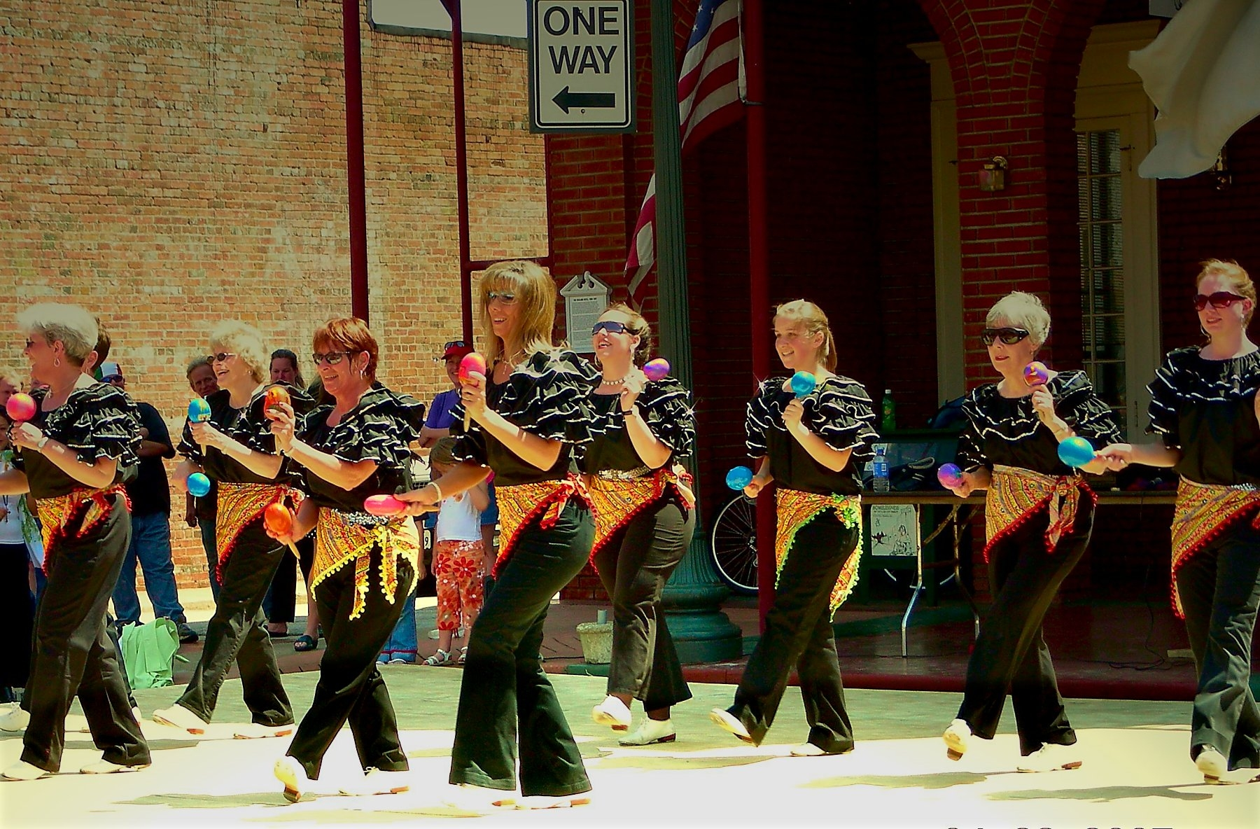 Rhythm Rockers at the Multicultural Festival in Historic Nacogdoches