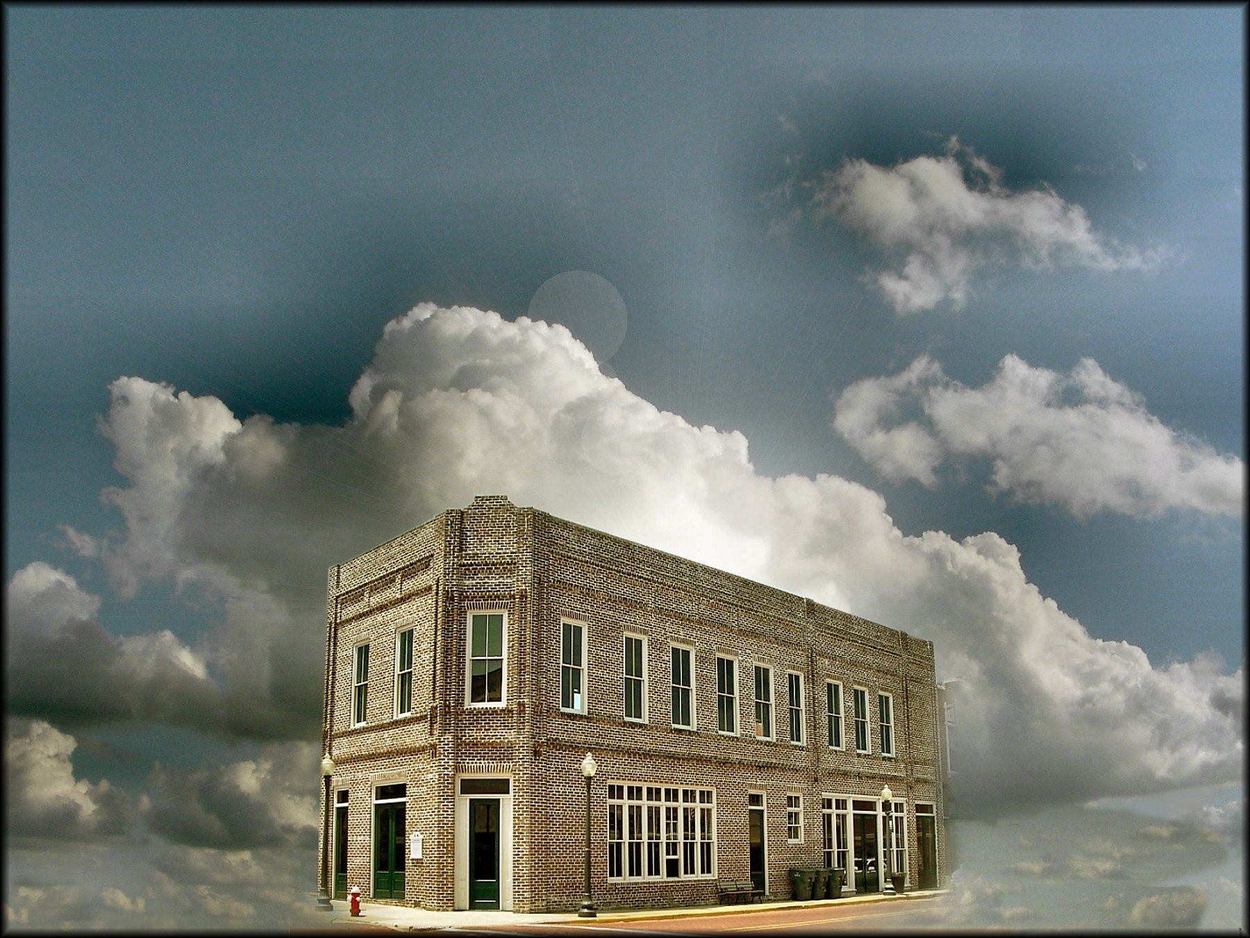 Old Wettermark Bank Building in Downtown Historic Nacogdoches
