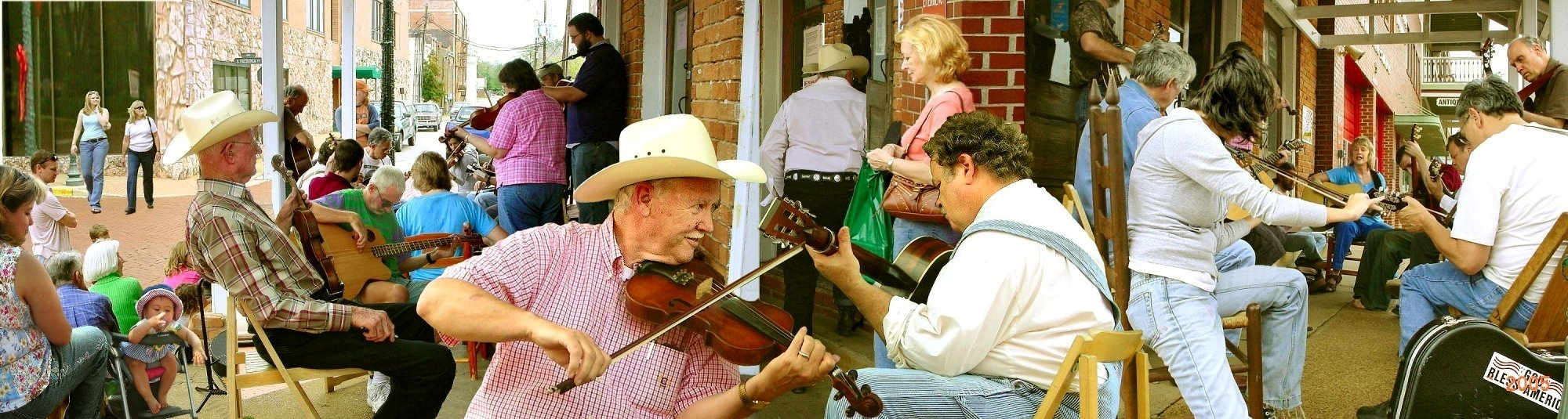 The Folk Songs of Texas in Historic Nacogdoches