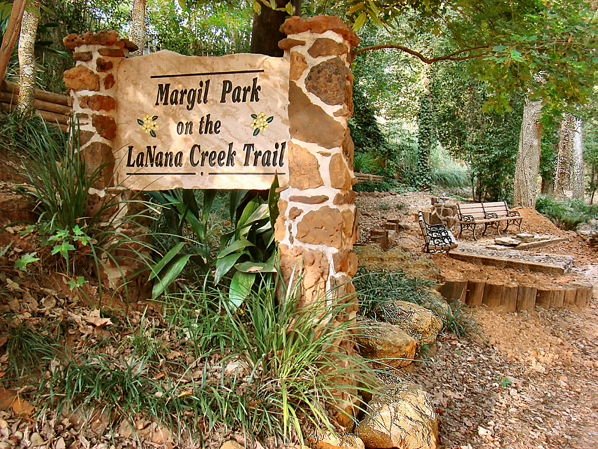 Margil Park on La Nana Creek Trail in Nacogdoches