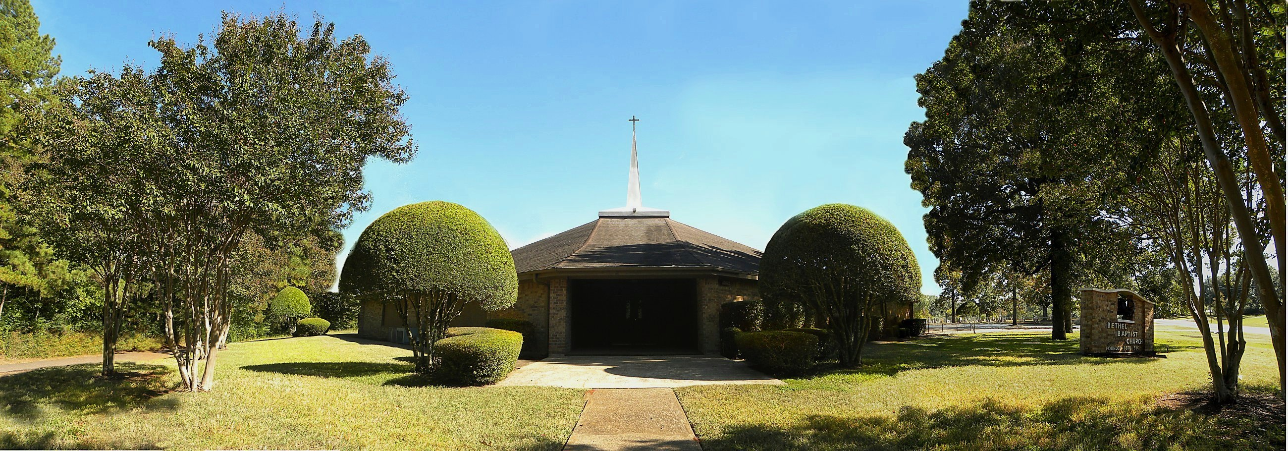 Bethel Baptist Church in Historic Nacogdoches County