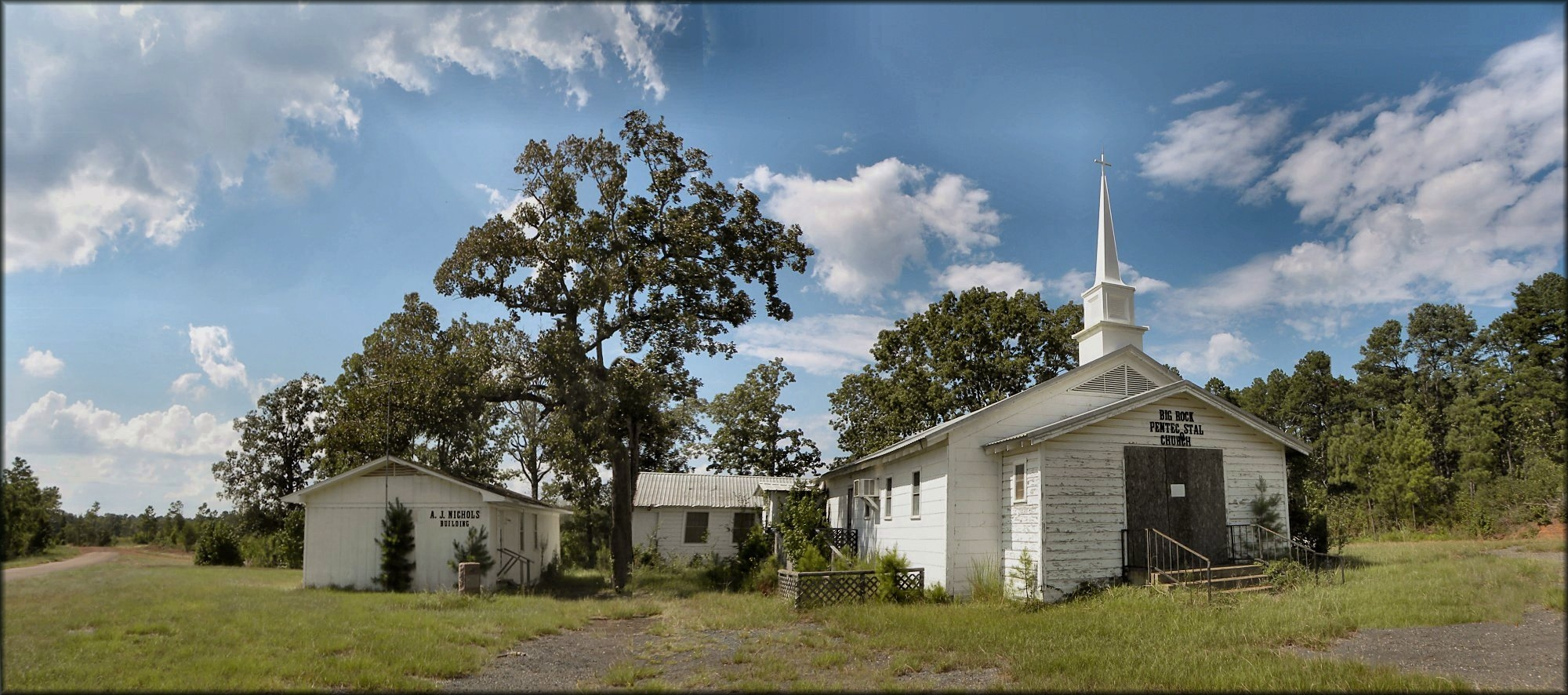 Big Rock Pentecostal Church in Historic Nacogdoches County