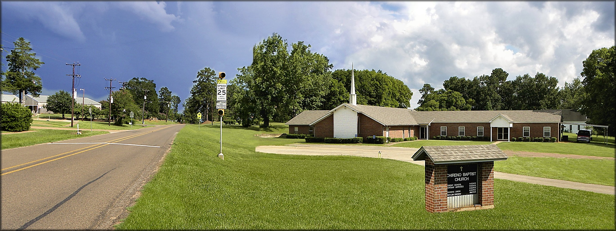 Chireno Baptist Church in Historic Nacogdoches County