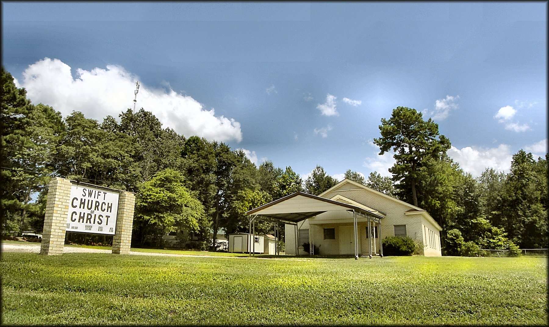 Church of Chris at Swift in Historic Nacogdoches County