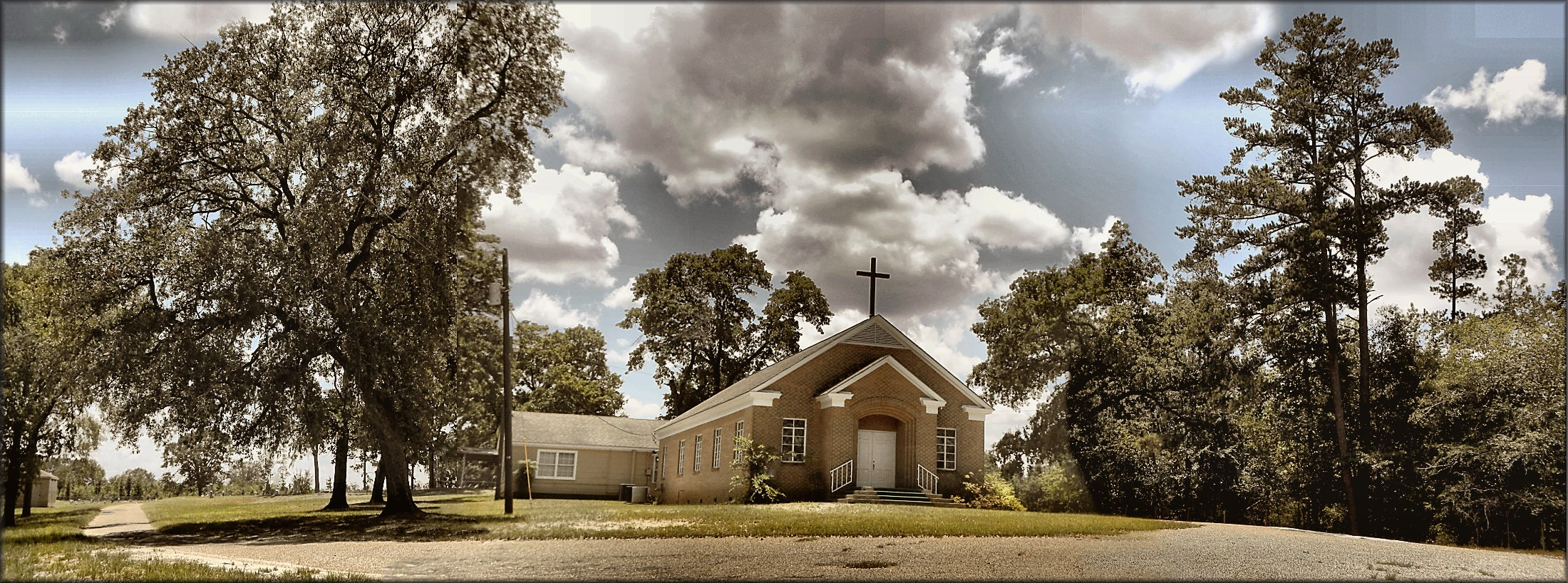 Fairview Methodist Church in Historic Nacogdoches County