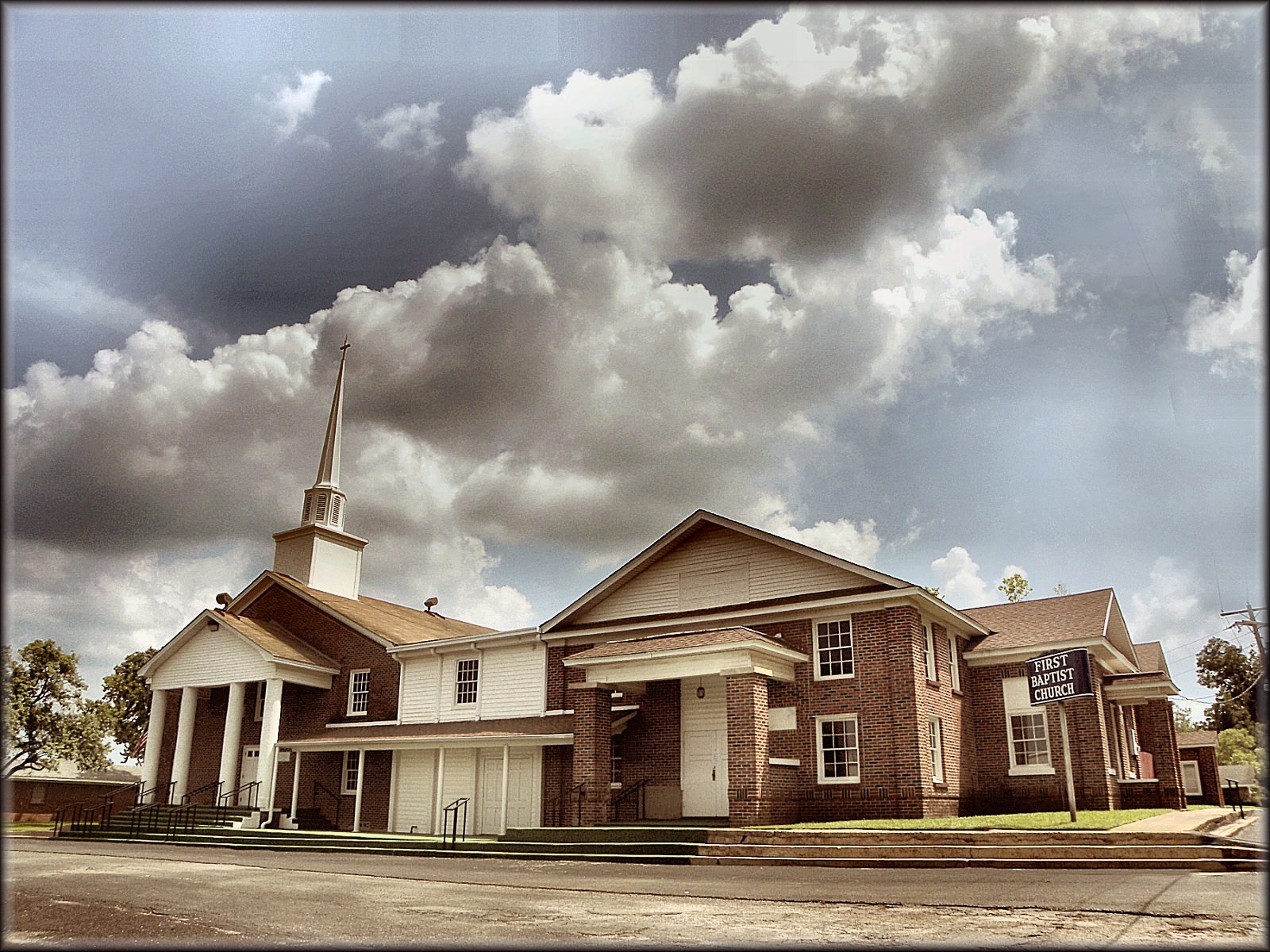 First Baptist Church of Garrison in Historic Nacogdoches County