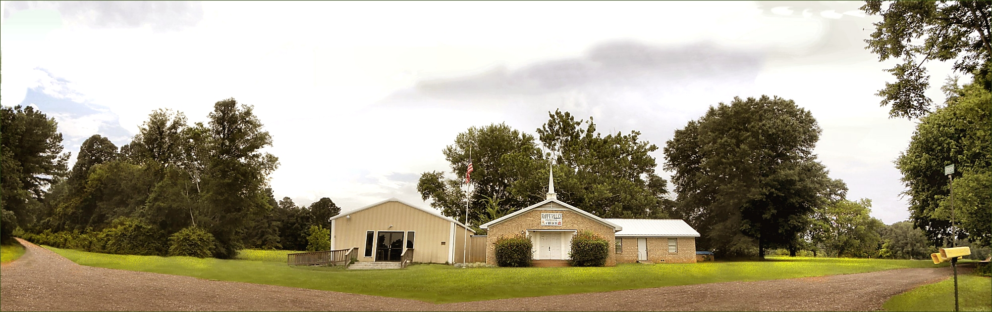 Happy Valley Pentecostal Church in Historic Nacogdoches County