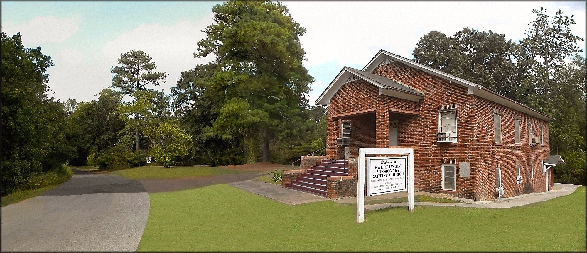 Sweet Union Missionary Baptist Church in Historic Nacogdoches County
