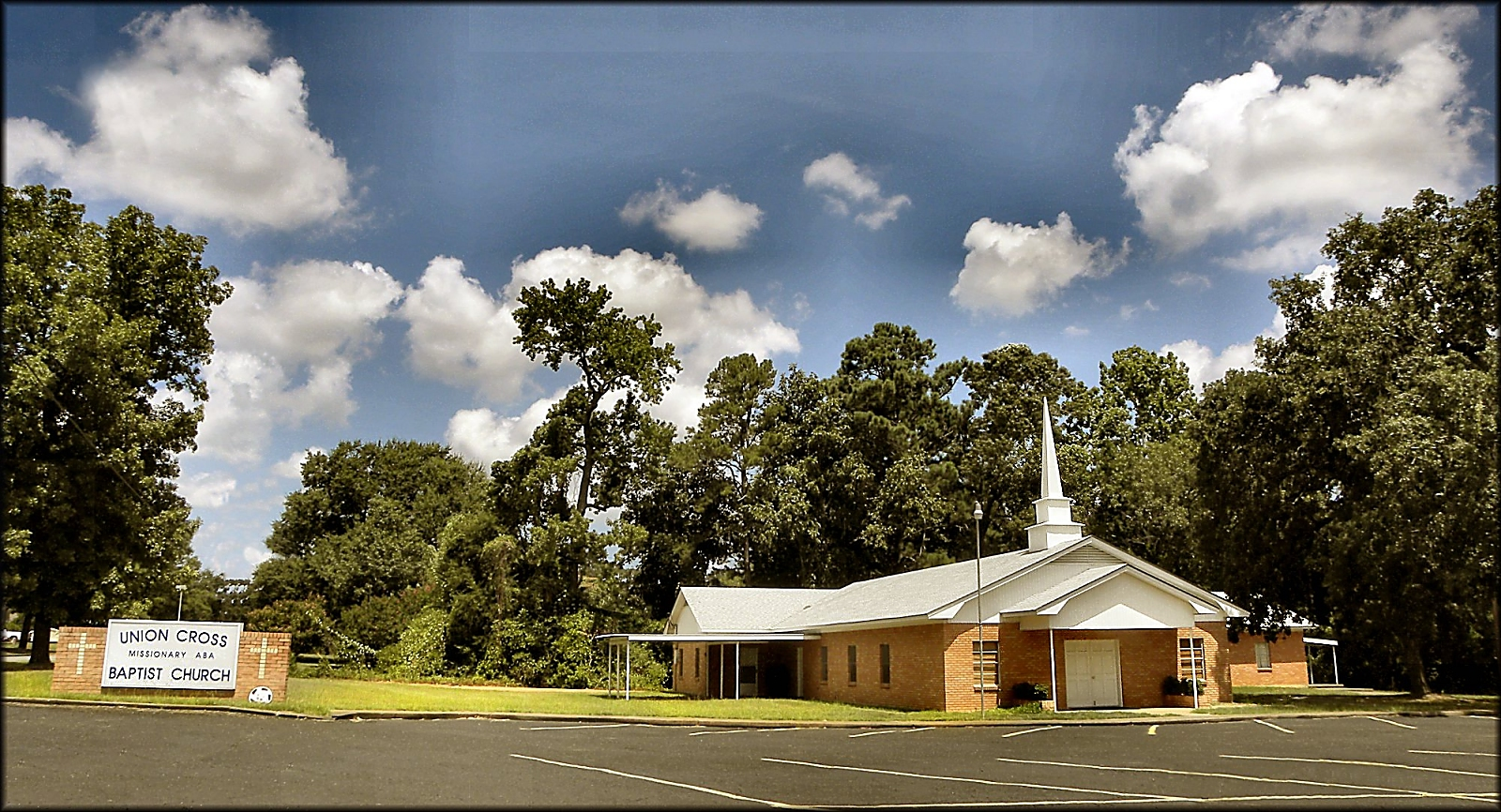 Union Cross Missionary Baptist Church in Historic Nacogdoches County