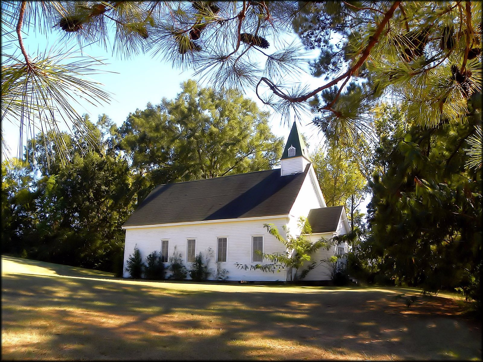 The Old Baptist Church of Chireno, Texas