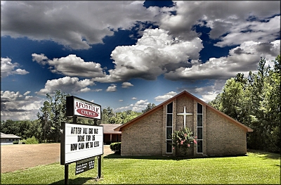 Apostolic Church in Cushing, Texas