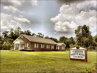 Corinth Primitive Baptist Church at Appleby, Texas