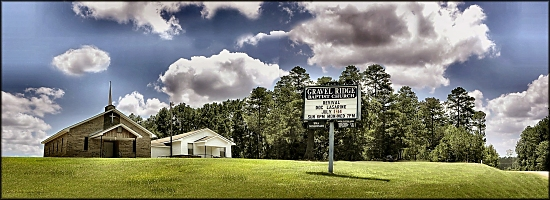 Gravel Ridge Baptist Church in Nacogdoches
