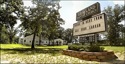 Grayland Baptist Church in Nacogdoches