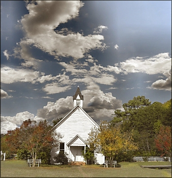 Millard's Crossing Historic Village Church