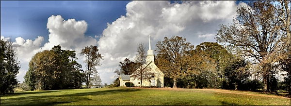 Rock Springs Cumberland Presbyterian Church on Texas Farm Road 698