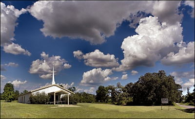 Sacul Baptist Church at Sacul in Nacogdoches County