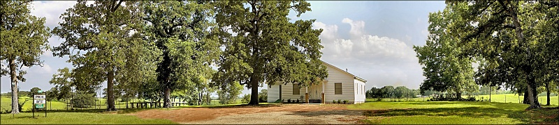 Springhill Baptist Church on Texas Farm Road 95
