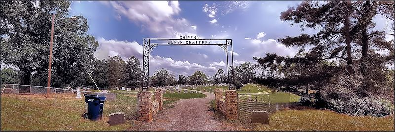The Lower Cemetery at Chireno, Texas in Historic Nacogdoches County