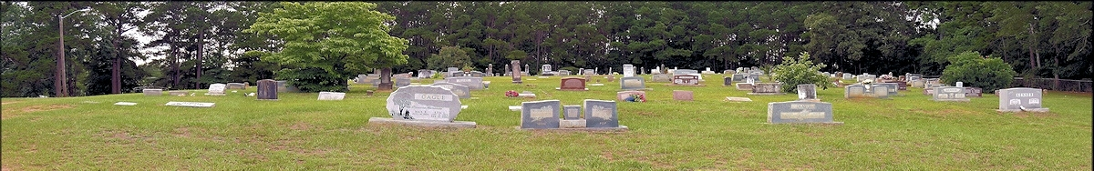 The Chireno Upper Cemetery at Chireno, Texas in Historic Nacogdoches county