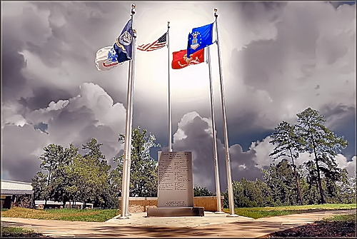 The Memorial Park at Cushing, Texas in Historic Nacogdoches County