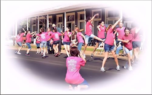 The Cushing OheMGee Dance Team at the Sacul Folk Festival in Historic Nacogdoches County