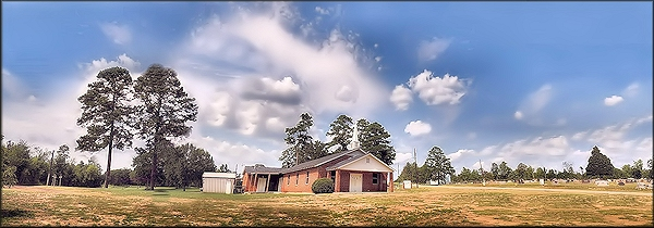 The McKnight Methodist  Church at Cushing, Texas in Historic Nacogdoches County