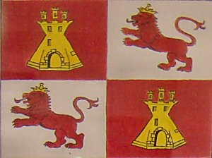 Flag of the Kingdom of Spain 1519 to 1821