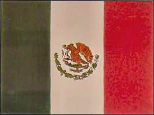 Flag of the MexicanFederal Republic 1821 to 1836