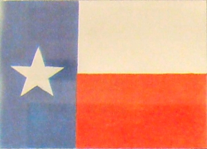 The Flag of the Republic of Texas 1836 to 1846