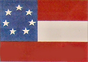 The Flag of the Confederate States of America 1861 to 1865