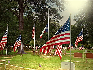 Memorial Day at Oak Grove Cemetery
