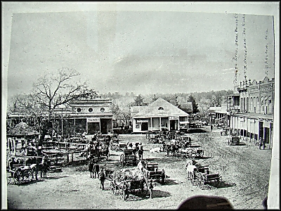 Old Photo of the Town Square
