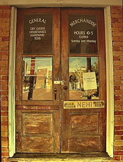 General Mercantile and Old Time String Shop in Downtown Historic Nacogdoches