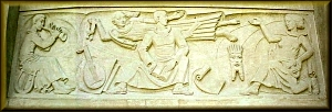 Monumental Relief Sculpture