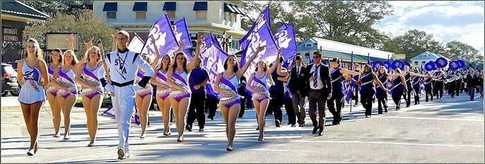 The Stephen F. Austin State University Lumberjack Band