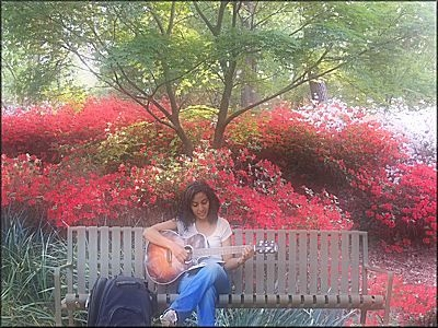 The Musician at Mize Azalea Garden