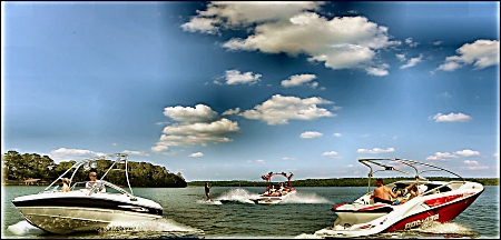 Boating on Lake Nacogdoches